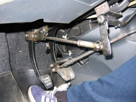 Ручное управление для автомобиля своими руками